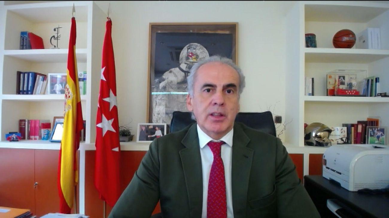 """Ruiz Escudero: """"No tiene ningún sentido aplicar el confinamiento domiciliario en Madrid"""""""