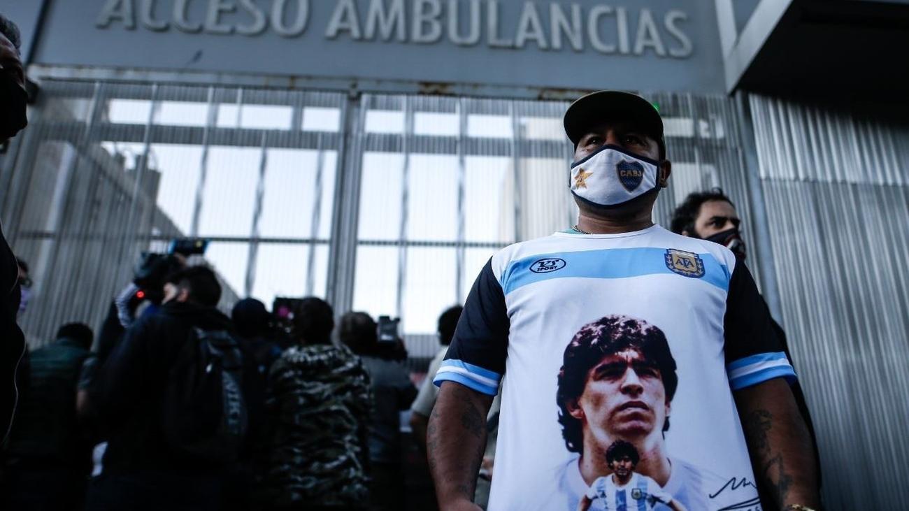 Maradona, operado con éxito de un hematoma subdural