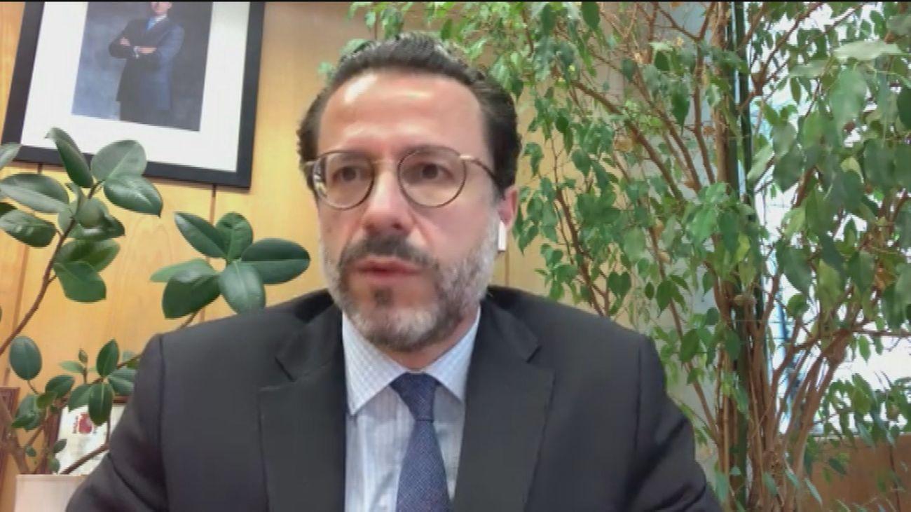 Javier Fernández-Lasquetty, consejero de Hacienda