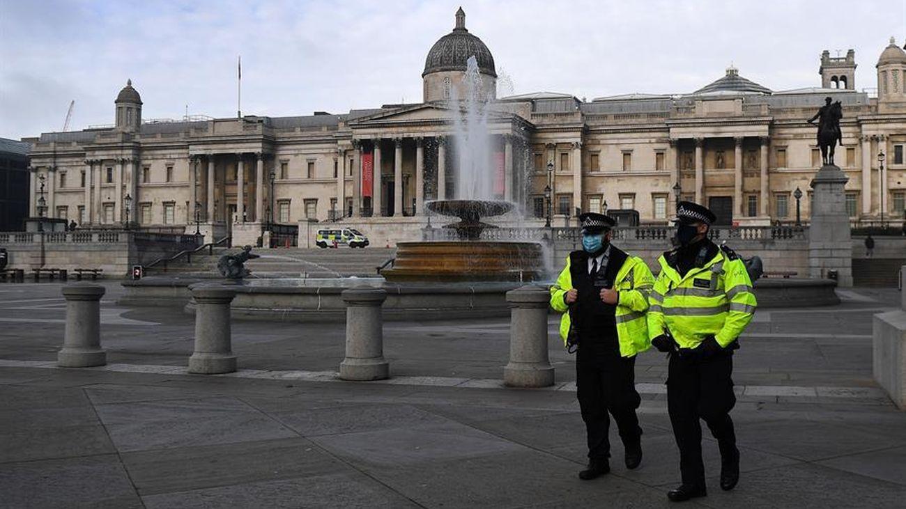 Londres, vacía por el confinamiento aprobado contra el coronavirus
