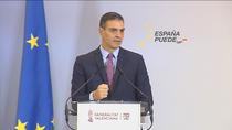 """Sánchez augura que las campañas de vacunación """"podrían estar"""" en seis meses"""