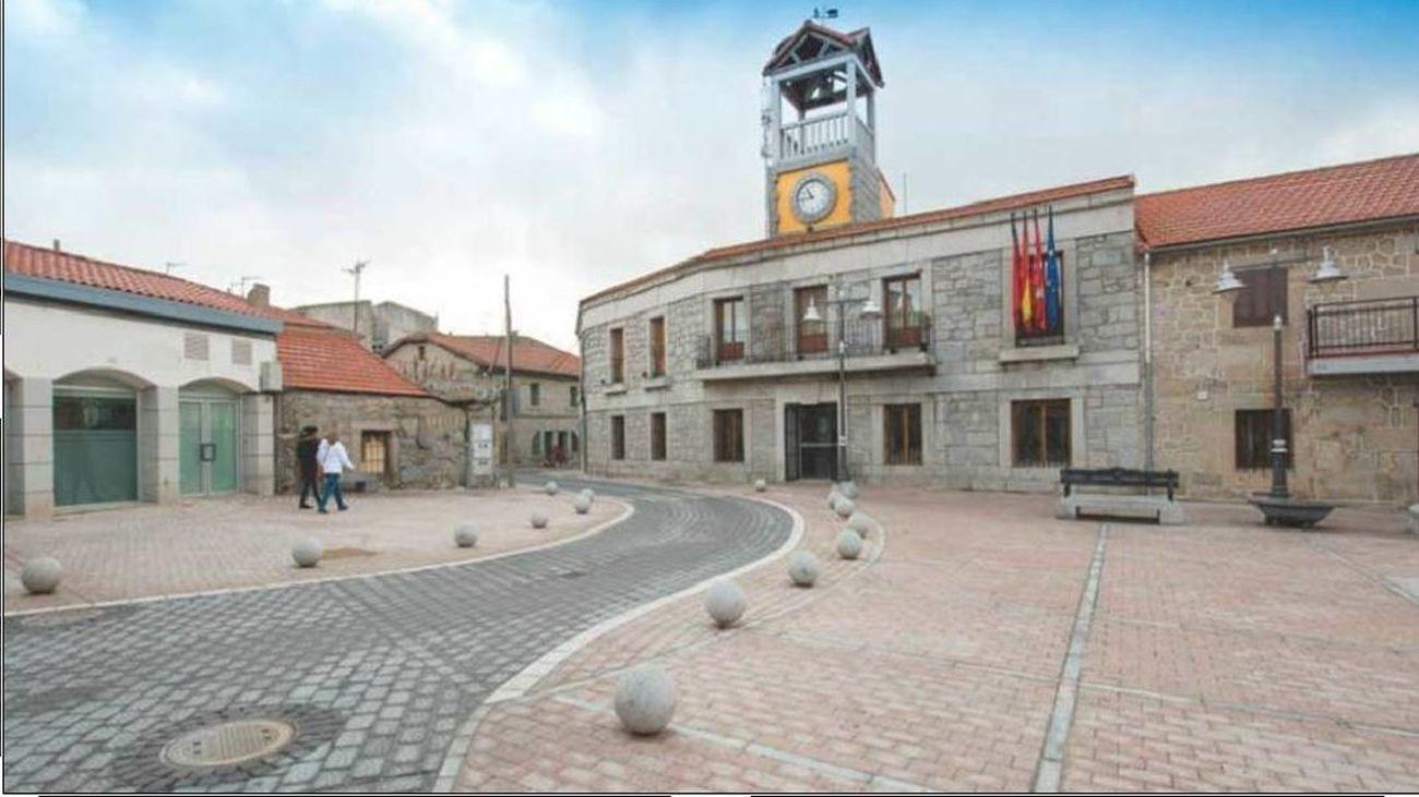 Casco urbano de Moralzarzal