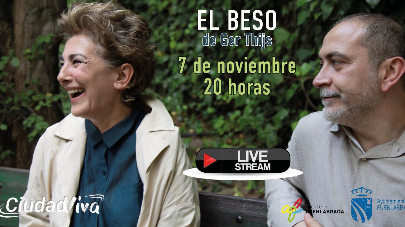 Fuenlabrada acoge el estreno de la obra 'El beso', con Isabel Ordaz
