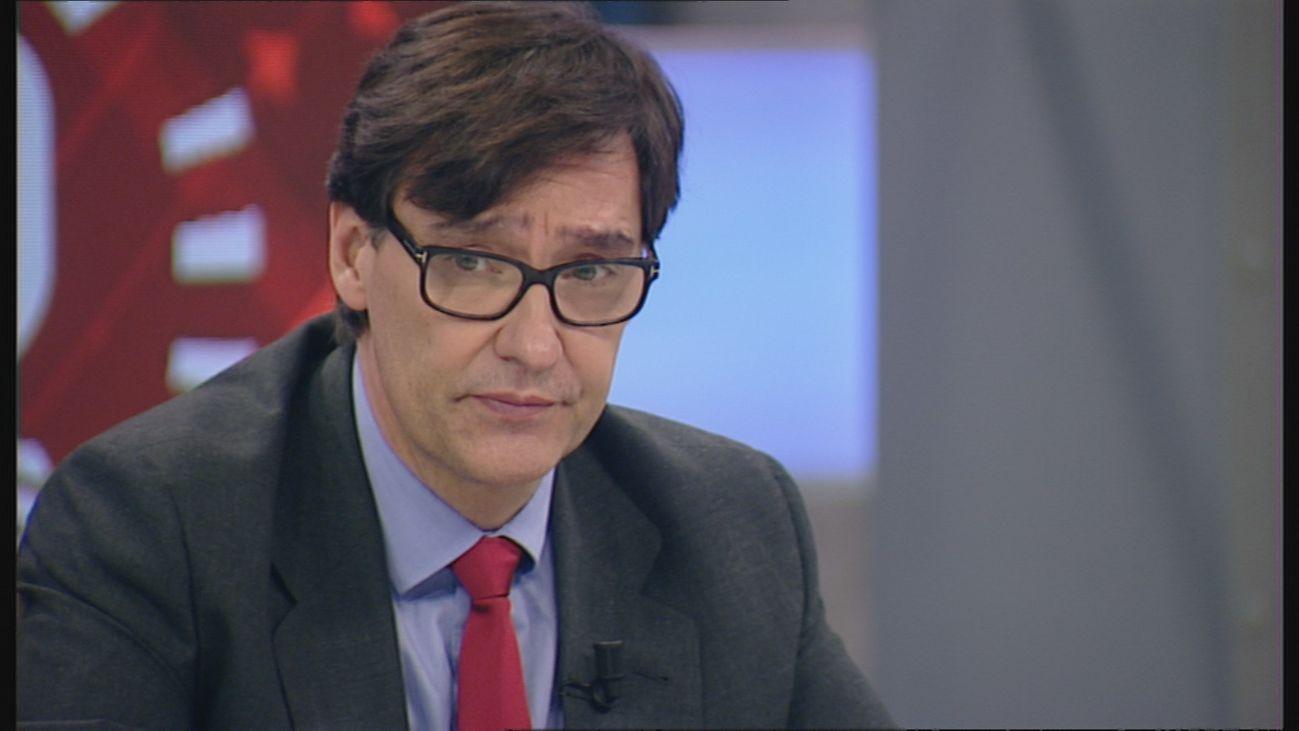 """Illa asegura en Telemadrid que se actuará """"con contundencia y sin descartar nada"""" contra los médicos negacionistas"""