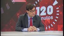 """Salvador Illa, en Telemadrid: """"La situación en Madrid ha mejorado, ¿suficientemente? No, la incidencia es alta"""""""