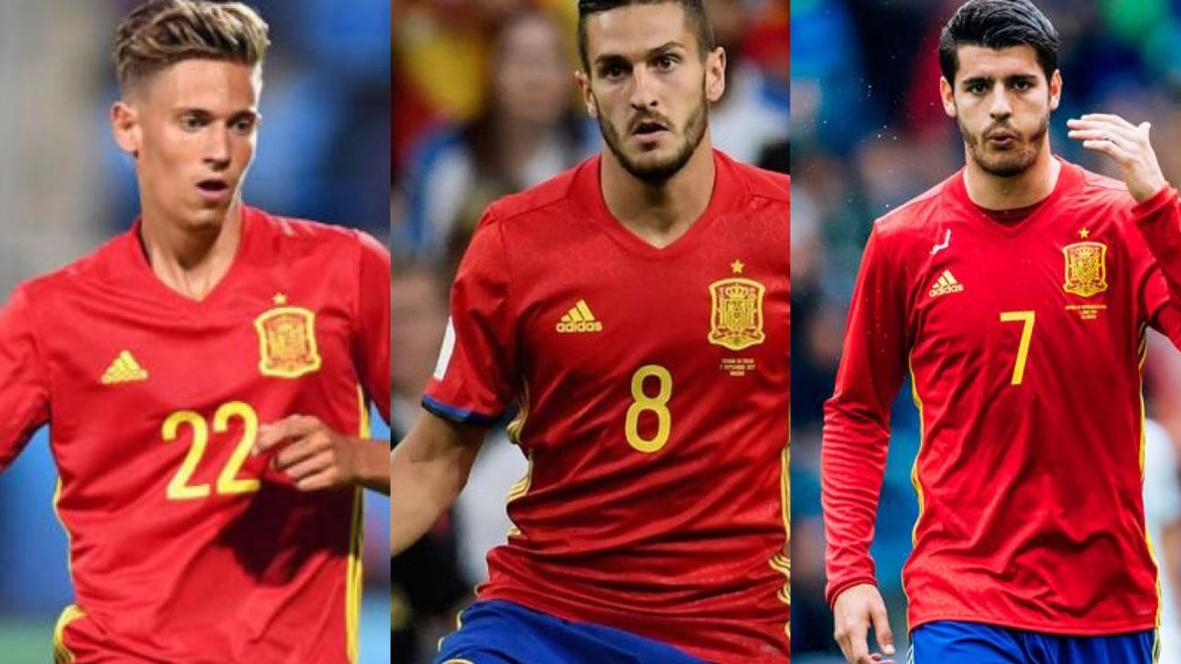 Marcos Llorente,Koke y Morata, novedades en la Selección española
