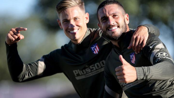 """Simeone  y la Selección: """"Koke lo merece y Llorente está espectacular"""""""