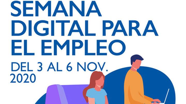 Mesa final de la Semana Digital para el Empleo del Ayuntamiento de Madrid