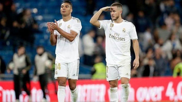 Casemiro y Hazard, positivos por covid-19