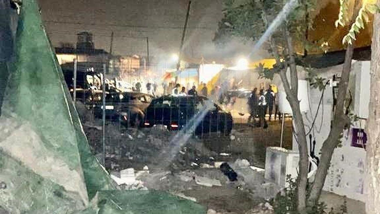 La policía interviene en una fiesta clandestina en un bar de la Cañada Real con 67 personas