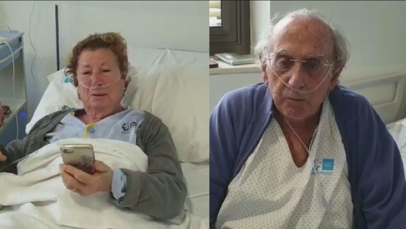 Enrique y Paloma celebran su 55 aniversario de boda ingresados por Covid en el Hospital Ramón y Cajal