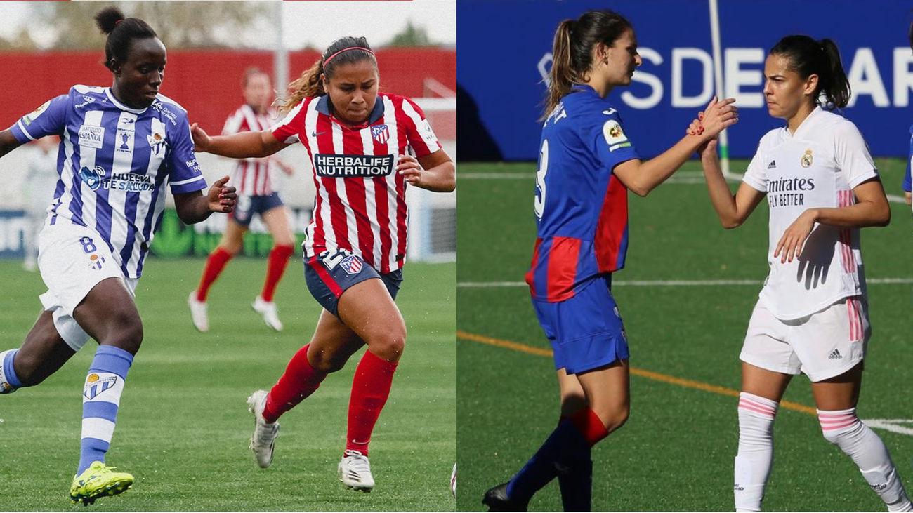 El Atlético femenino se atasca con el colista y el Real Madrid sigue al alza