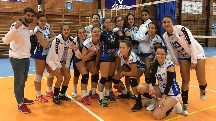 No hay quien pueda con el Voleibol Leganés en la Superliga Femenina 2