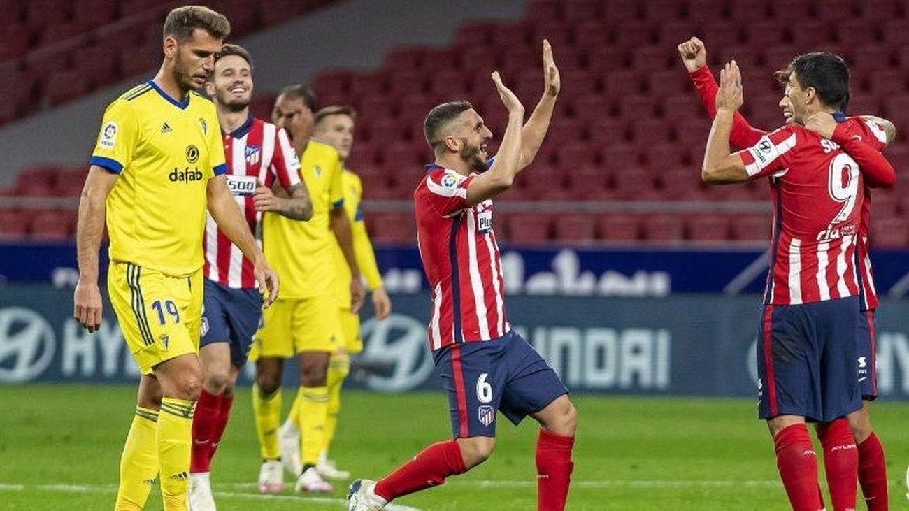 Atlético de Madrid - Cadiz
