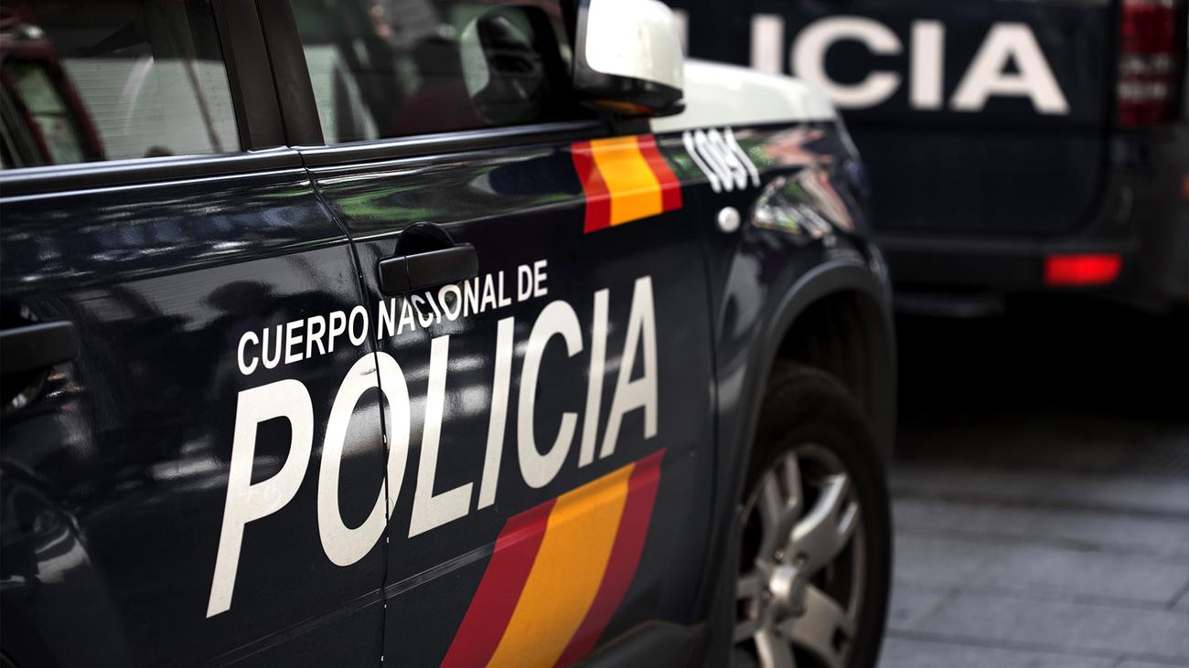 Vehículo del Cuerpo Nacional de Policía
