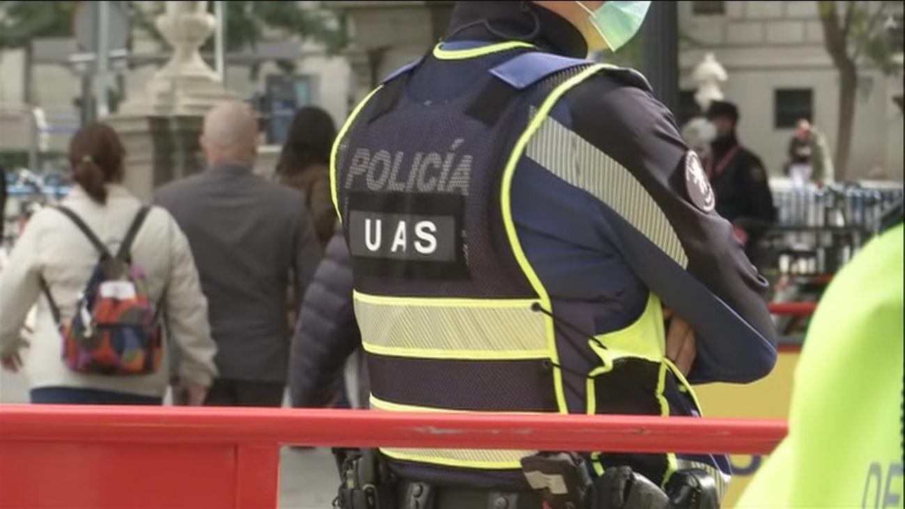 Así se ha desplegado el dispositivo policial de la Vuelta Ciclista a España