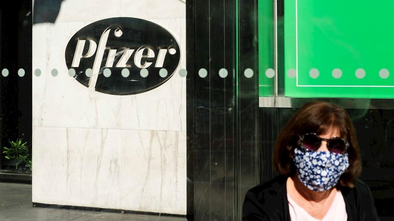 Pfizer pide autorización en EE.UU. para suministrar con urgencia su vacuna