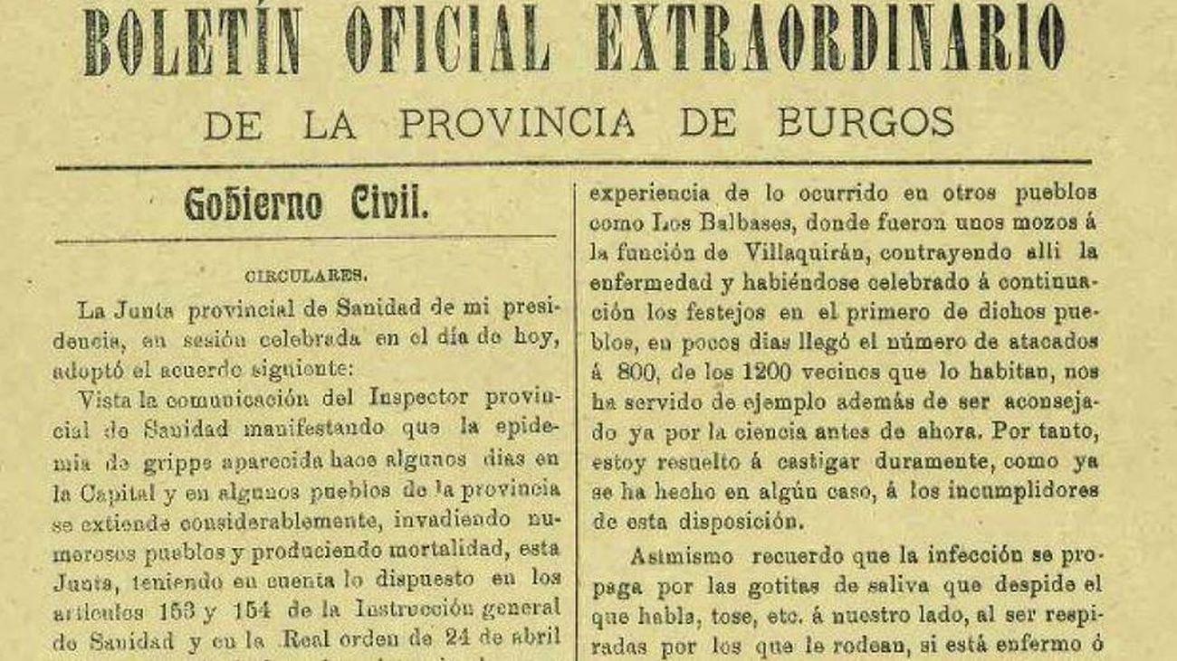 Los aerosoles, la ventilación y la hostelería en la pandemia... de 1918