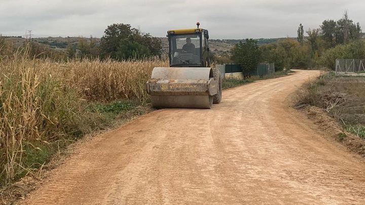 Morata de Tajuña repara los caminos que resultaron dañados por la DANA de 2019