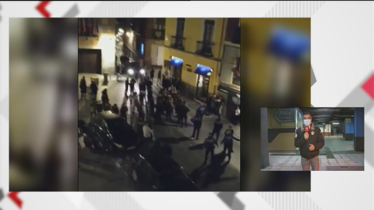 La Policía interviene en un local de Azca que funcionaba como discoteca ilegal