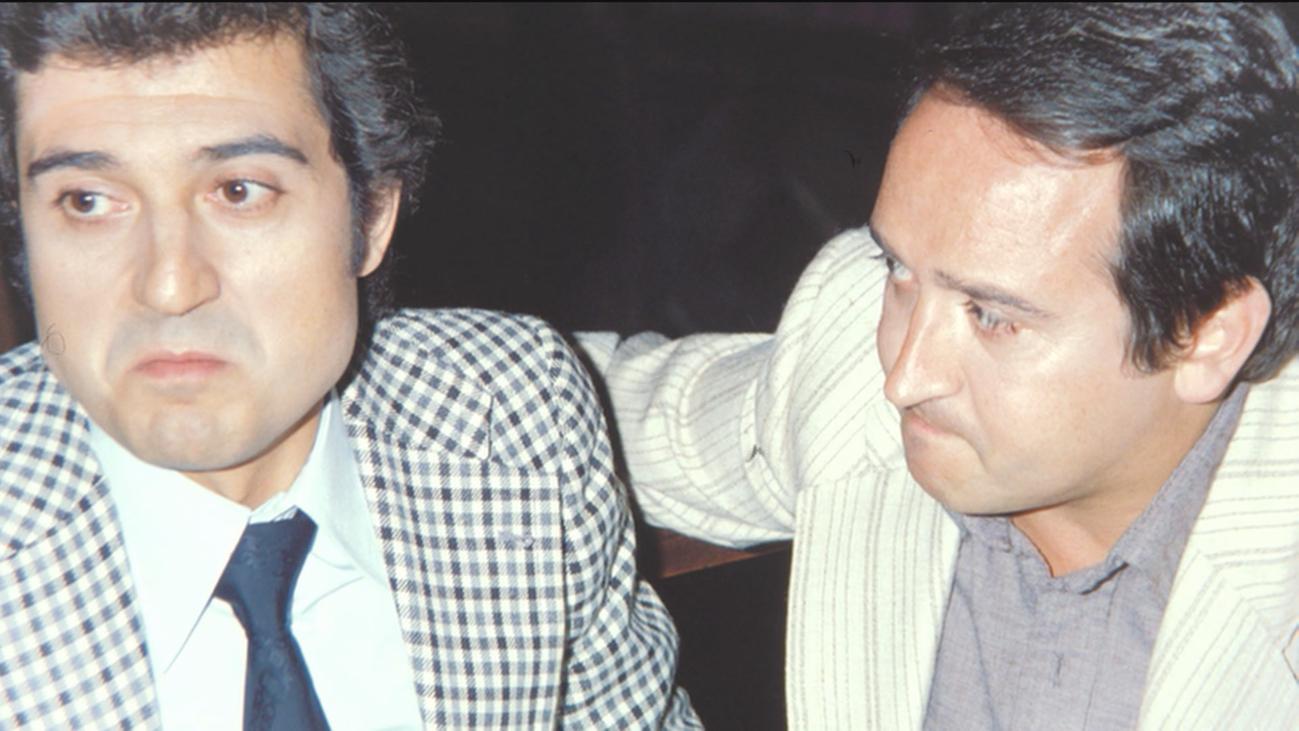 Andrés Pajares y Fernando Esteso rodaron juntos 9 películas en 5 años