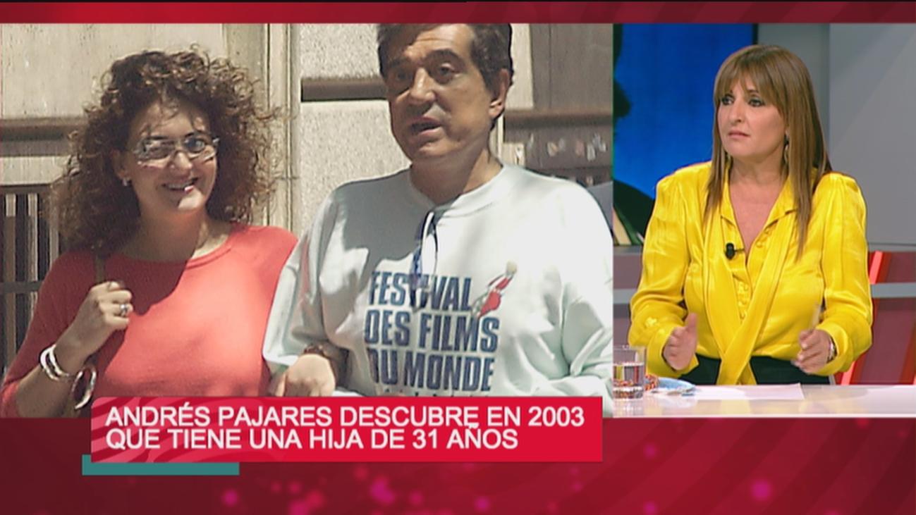 Pajares descubrió en 2003 que tenía una hija de 31 años