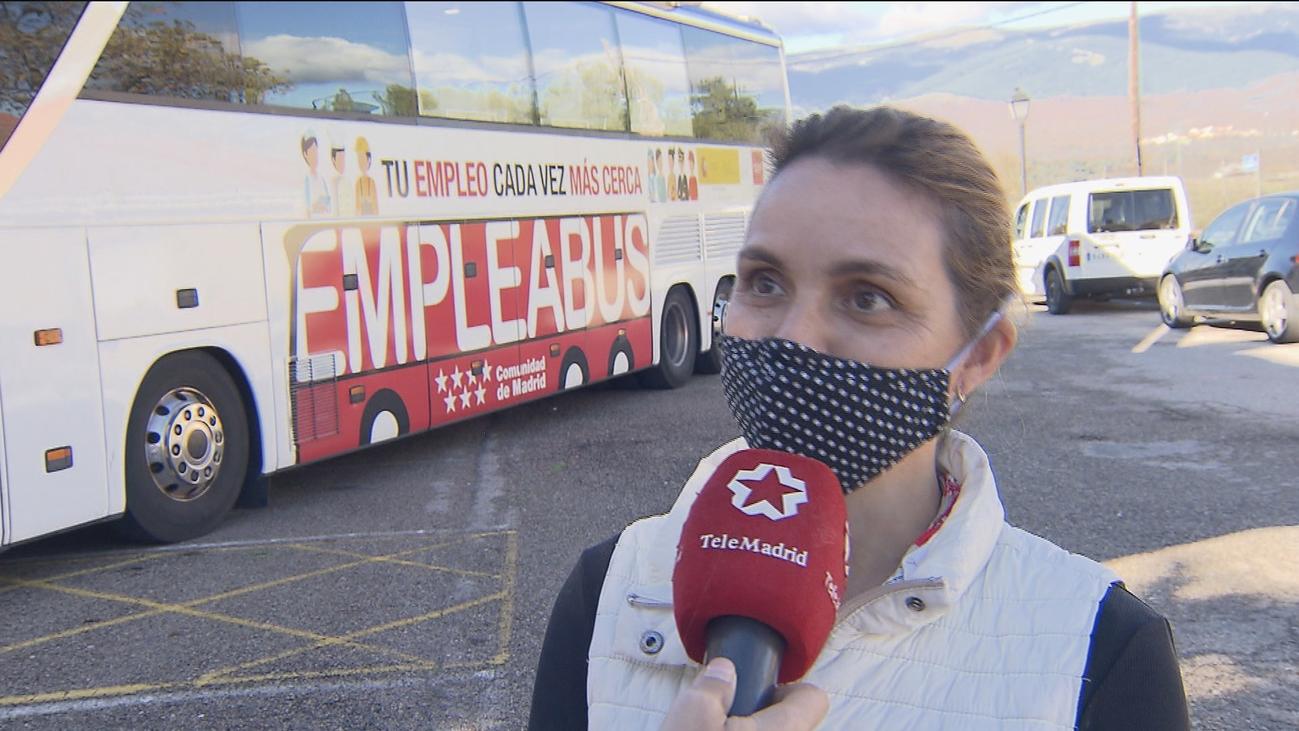 El EmpleaBus de Madrid ayuda a 500 desempleados en sus tres primeros meses