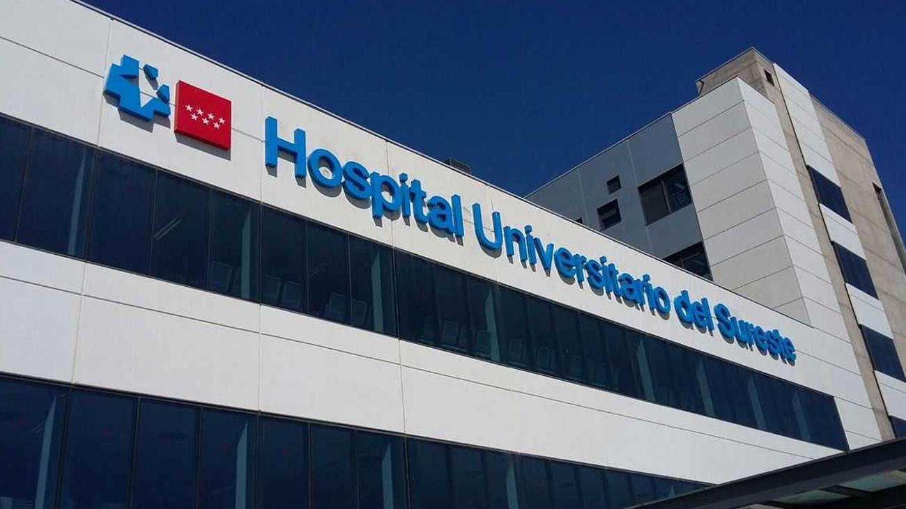 Hospital del Sureste, en Arganda del Rey