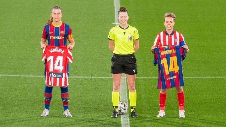 3-0. El Atlético cede el liderato de la Primera Iberdrola al Barça