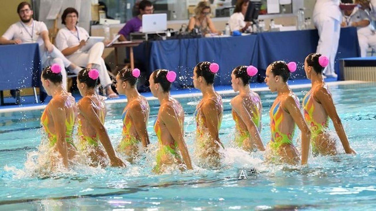 La natación sincronizada vuelve con el Campeonato de Madrid