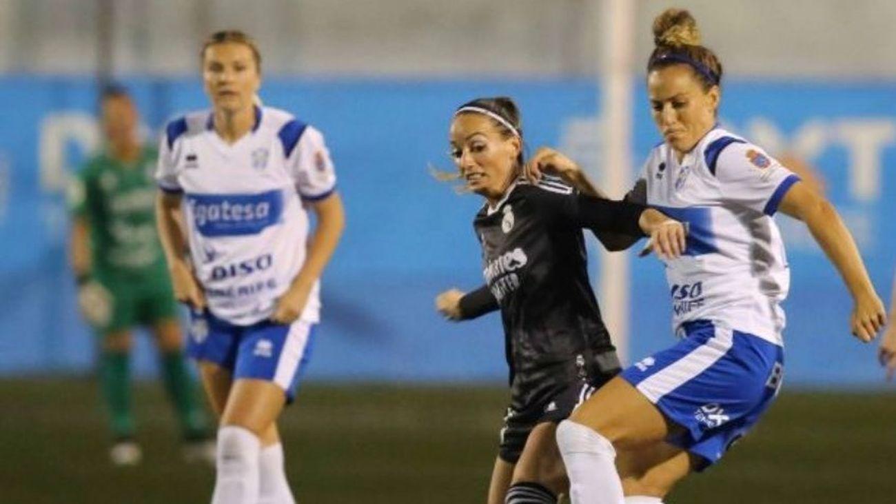 2-1. El Real Madrid Femenino se va de vacío de Tenerife