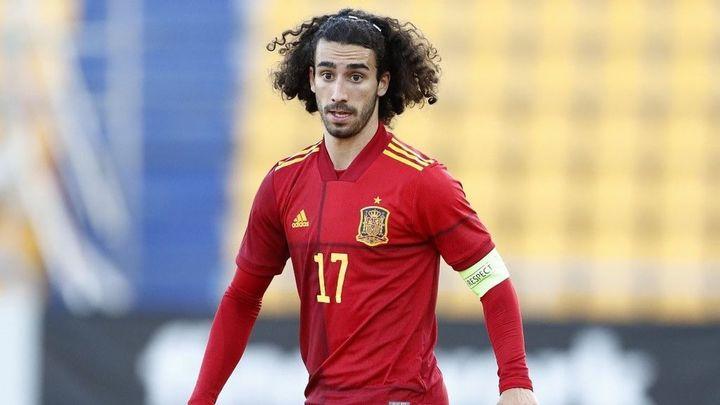 Cucurella, convocado por España en sustitución de Gayá