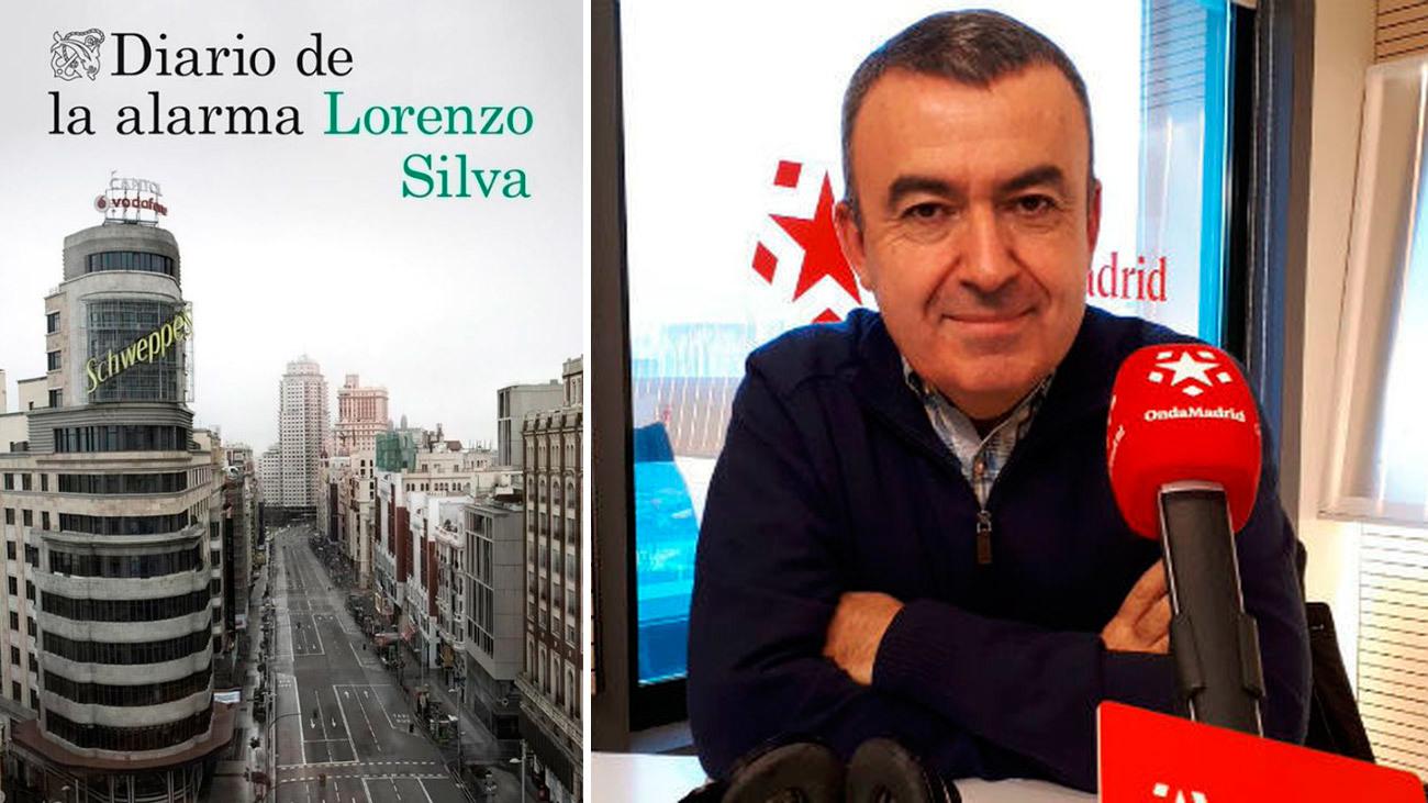 Lorenzo Silva presenta 'Diario de la alarma' en Onda Madrid