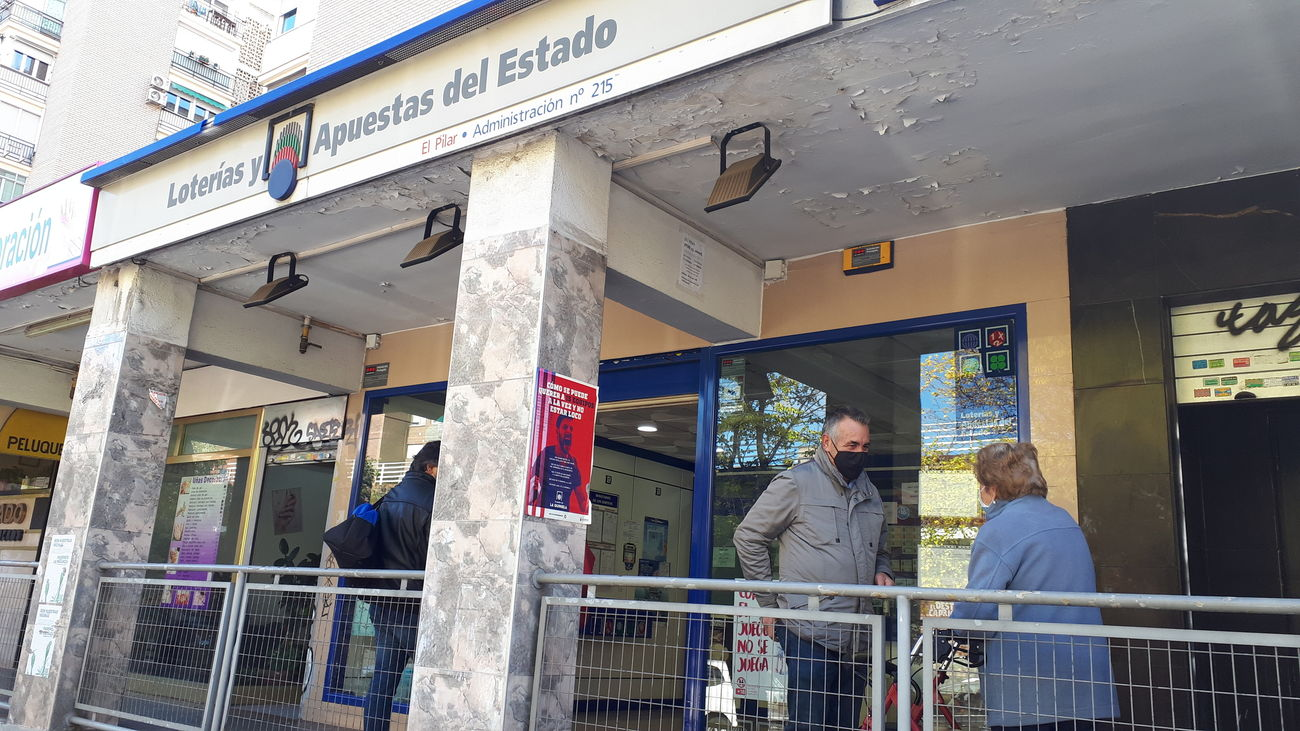 Administración de Lotería de la calle Escalona