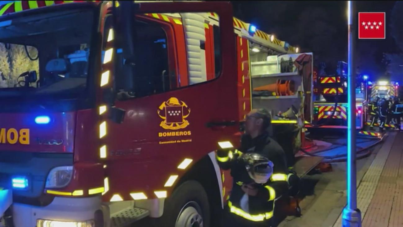 Un incendio destruye una vivienda en Villalbilla, pero no hay heridos