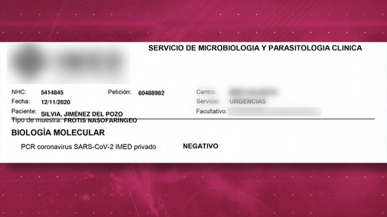 Está Pasando destapa a un falsificador que vendía certificados de PCR ficticios por internet