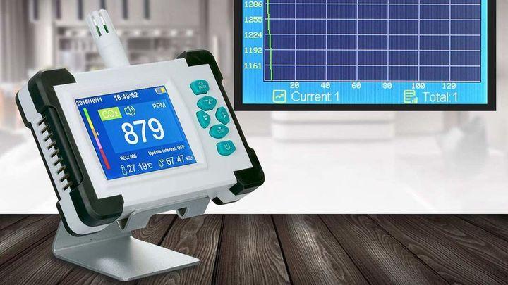 Todo lo que tienes que saber sobre los medidores de CO2
