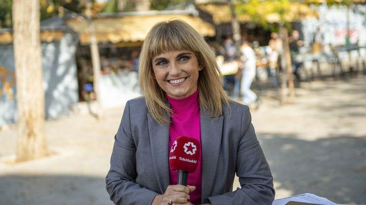 El Telenoticias 1 de Lourdes Maldonado, desde la Cuesta de Moyano