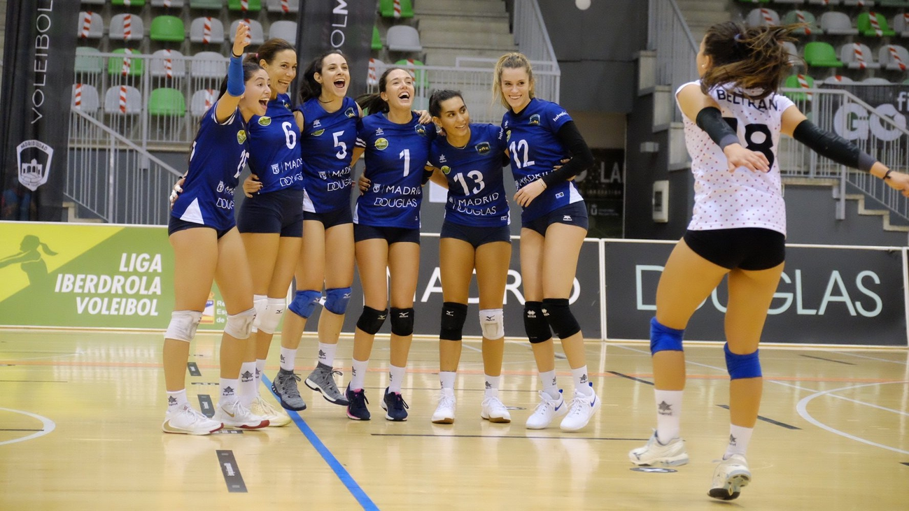 Voleibol Madrid cumple 50 partidos en la Superliga Femenina