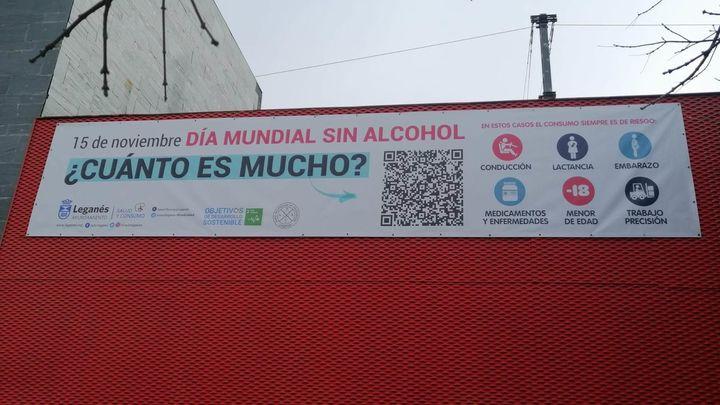 Leganés lanza una campaña para concienciar sobre los peligros del alcohol