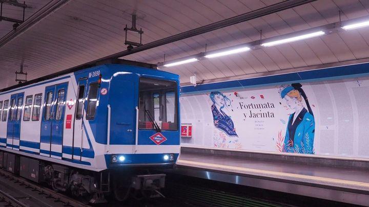 Próxima estación en el metro de Madrid... 'Fortunata y Jacinta'