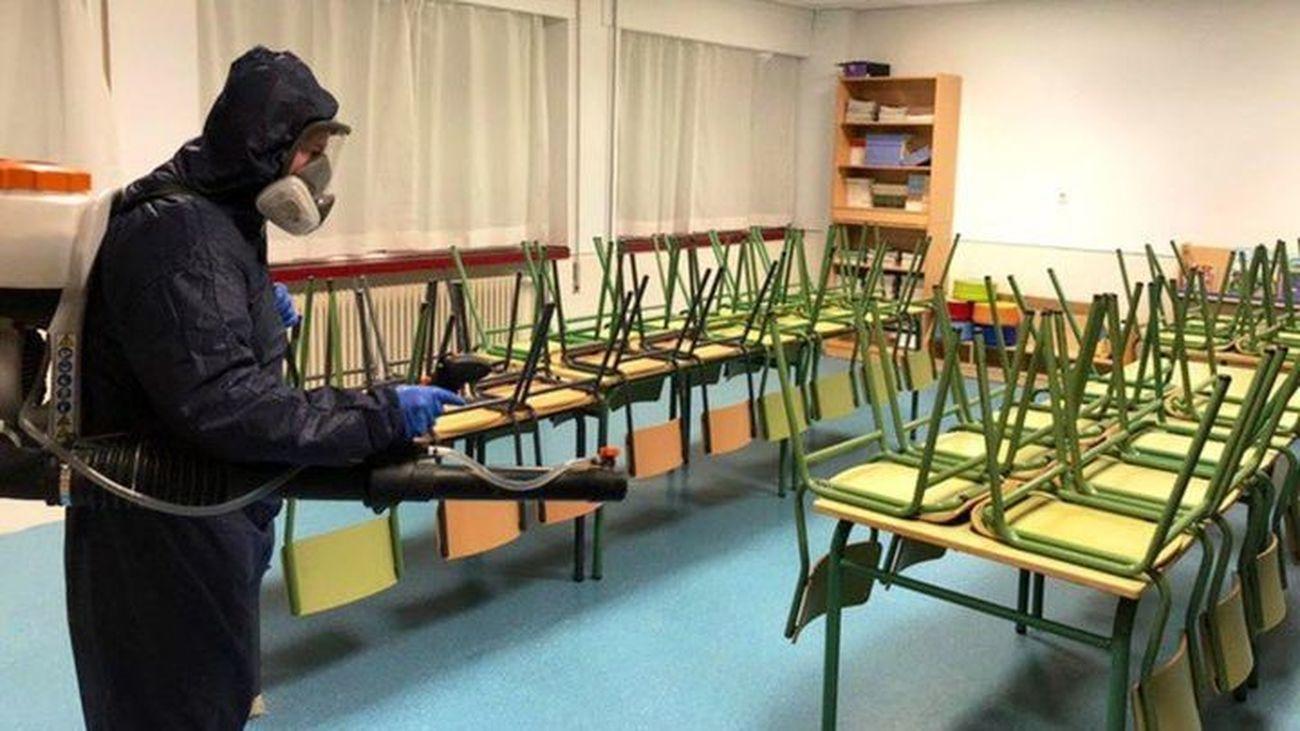 Más de 25.000 alumnos de la Comunidad de Madrid están en cuarentena por Covid
