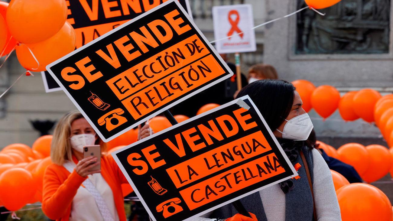 Protestas contra la 'Ley Celaá'