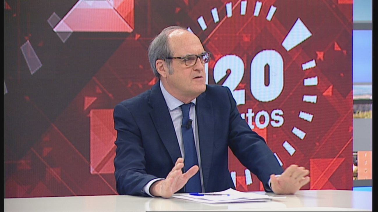 """Ángel Gabilondo en Telemadrid: """"Hay espacios sanitarios en Madrid que no están habilitados"""""""