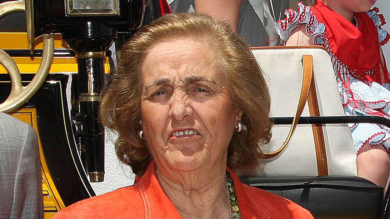 Teresa Rivero, ingresada en estado grave