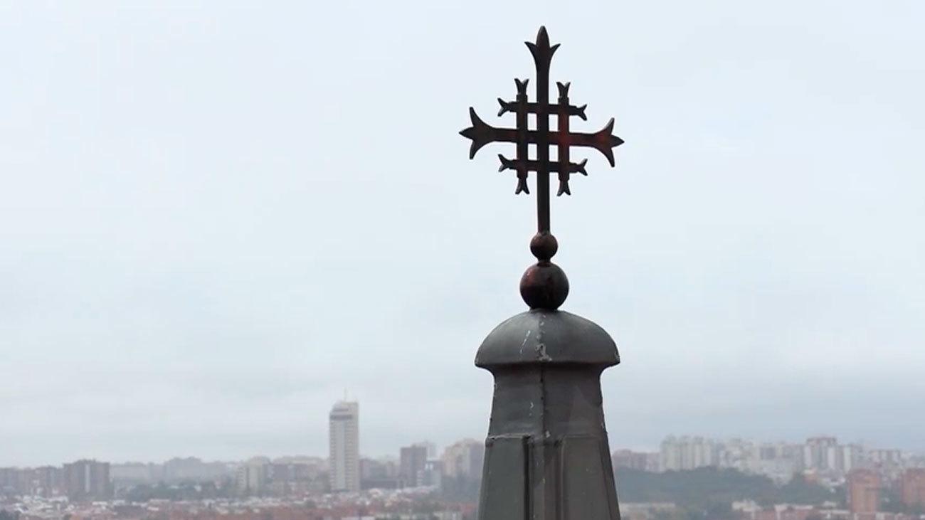 Vistas desde la cúpula de la catedral de la Almudena