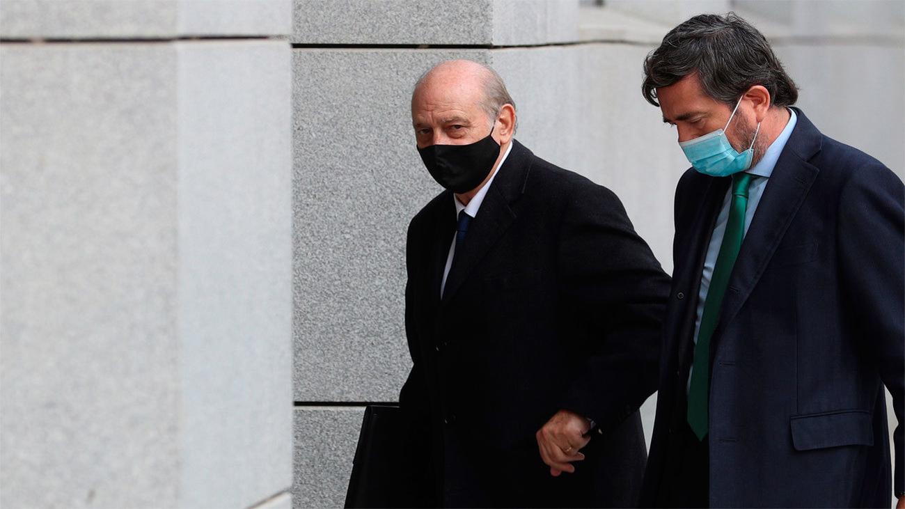 Fernández Díaz y Francisco Martínez se acusan de mentir en un careo tenso sobre  el 'caso Kitchen'