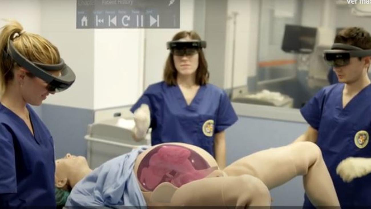 Visitamos un auténtico Hospital Virtual de Simulación