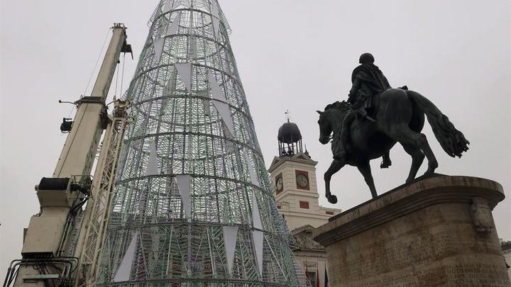 El belén de la Puerta del Sol estará en esta Navidad en el exterior de la Real Casa de Correos
