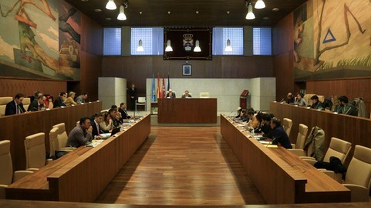 Pleno del Ayuntamiento de Leganés